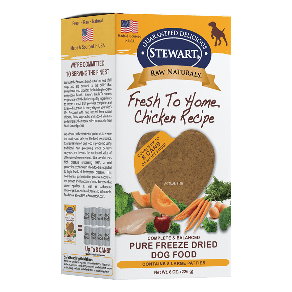 Freeze Dried Chicken Patties Stewart